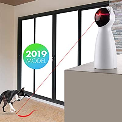 PetDroid Boltz Cat Laser Toy Automatic,Cat Toy Interactive for Kitten/Dogs,USB Charging by PetDroid