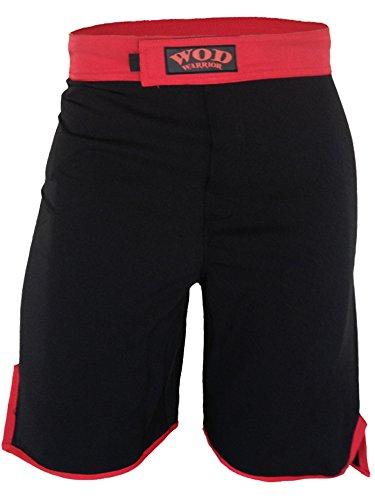 (WOD Shorts - WOD Warrior 1.0 (Black/Red, 30))