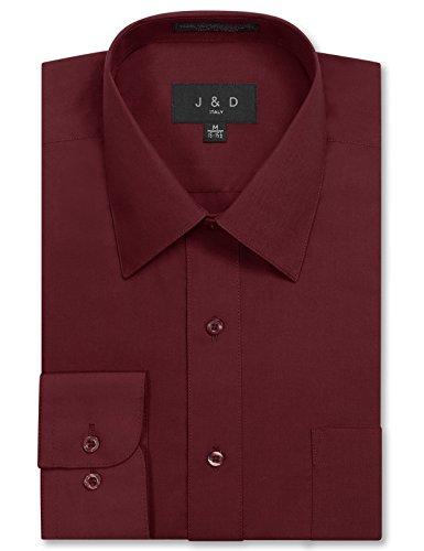 jd-apparel-mens-long-sleeve-regular-fit-solid-dress-shirt-20-205-n-36-37-s-burgundy