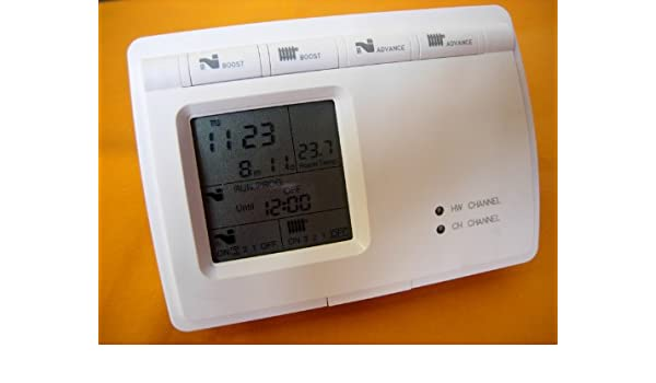 Programador digital para la caldera de calefacción central y termostato de agua caliente: Amazon.es: Bricolaje y herramientas