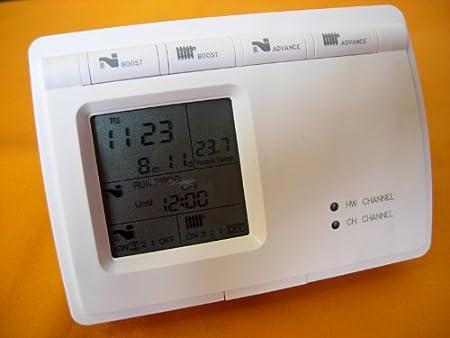 Digital Programmer Boiler Central Heating & Hot Water Room ...