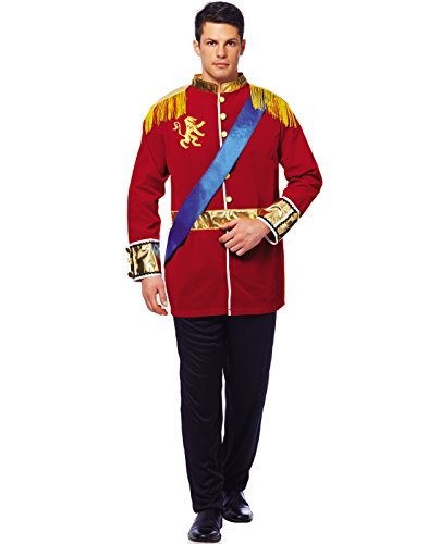 s Prince Costume, Red, Standard ()