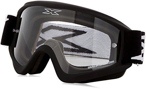EKS Flat Out Series Masque de Motocross Mixte Adulte, Noir