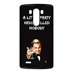 LG G3 Cell Phone Case Black Wolf Of Wall Street Phone Case Cover Protective Durable XPDSUNTR31618