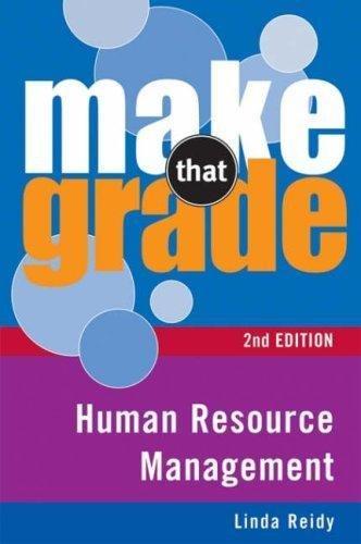 Download Human Resource Management (Make That Grade) PDF