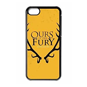 MMZ DIY PHONE CASEGTROCG Game of Thrones 2 Phone Case For iphone 5/5s [Pattern-1]
