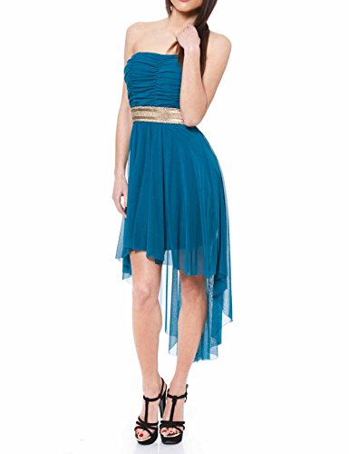 Buy belted aztec lace dress - 8