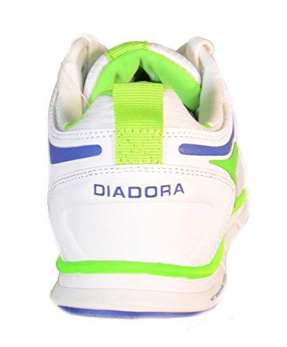 Diadora - Diadora Chaussures de sport Running pour Homme NJ-404 Blanc 158608 - Blanc, 45