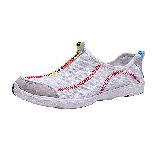 (HAPPIShare Women/Men's Water Shoes Quick Dry Non Slip Aqua Beach Walking Snorkeling Kayaking Yoga Swimming Shoes)