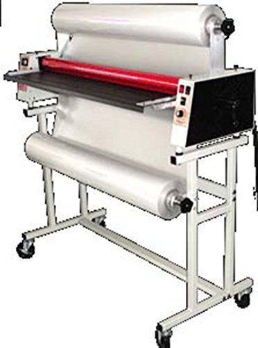 Pro-Lam PL-244WF 44'' Heated Roller Wide Format Roll Laminator with Stand & Casters American Made by Prolam