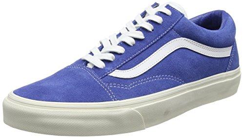 Skool Hombre de Entrenamiento Azul para Sport Zapatillas Vans Delftretro Old OqHg77