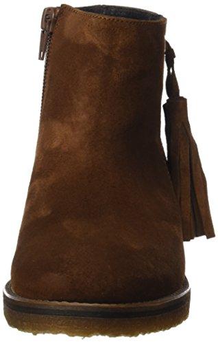 Schwarz 40836 Damen Seide Ankle Gadea Braun Boots 5YvZw
