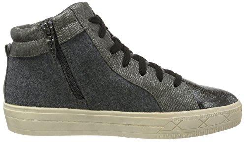 Femme Marron Hautes Com Sneakers Anthracite Gris EU 36 Tamaris 234 25217 fwqOwxp