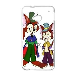 HTC One M7 Phone Case White Pinocchio J. Worthington Foulfellow SF1705729