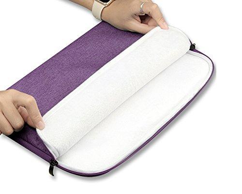 Fundas De Ordenador Portátil Bolsillo Suave Portátil Bolsa Cubierta Antigolpes Case Purple