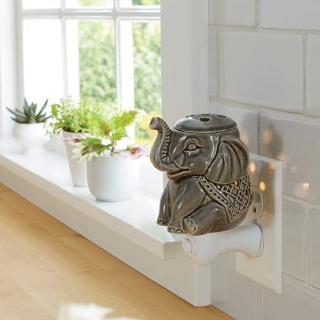 Decorative and Relaxing Elephant Wax Warmer