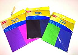 Stretchable Book Cover 2-pk (colors may vary)