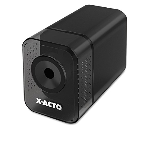 X-ACTO 1818 XLR Office Electric Pencil Sharpener, Charcoal Black