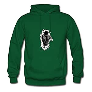 Styling X-large Hoodies Green Attack On Wall Image Women Organic Cotton S