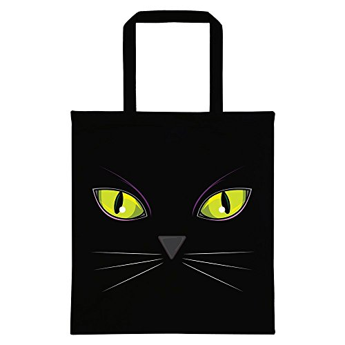 Tote Bag Eyes Cat's Eyes Tote Bag Cat's Black Tote Cat's Bag Eyes Black XfxIZqU