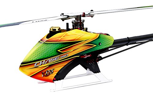 KDS CHASE 360 RC Helicopter KIT INCL Scorpion HK2520-1880KV Motor /HobbyWing ESC 50A-V3 Without Blades