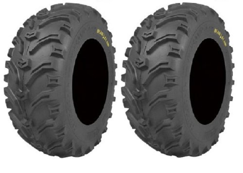Pair of Kenda Bear Claw (6ply) ATV Tires [25x12.5-10] (2)