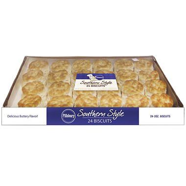 Pillsbury Southern Style Biscuits (2 oz. ea., 24 ct.) (pack of 6) by Pillsbury