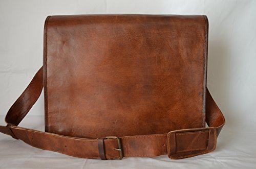 Komal S Passion Leather Vintage Mens 16 Inch Leather