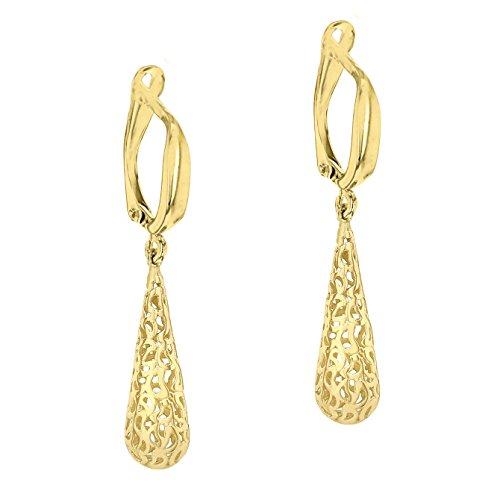 Carissima Gold - Boucles d'oreilles clous - Or jaune 9 cts - 1.54.3879