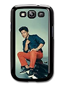 Bruno Mars Sitting On Piano Portrait case for Samsung Galaxy S3 A2204