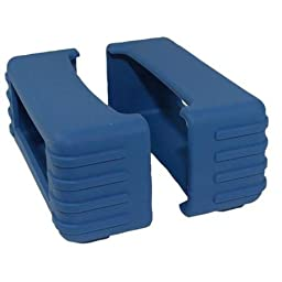 82 Series Rubber Boot Size 5 - Blue (Pair) - 1.75 Inch X 4.75 Inch X 2 Inch