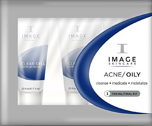 Image Skincare Travel Kit - Acne Oily - Cleanse - Medicate - Moisturize