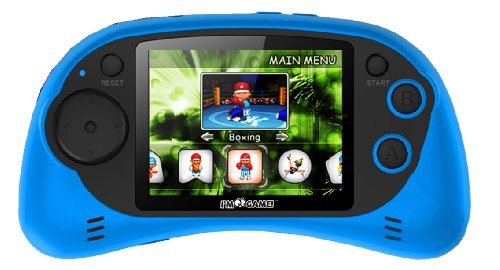 I'm Game 120 Games Handheld Player with 2.7-Inch Color Display, Blue (Psp Racing Games With Best Graphics)
