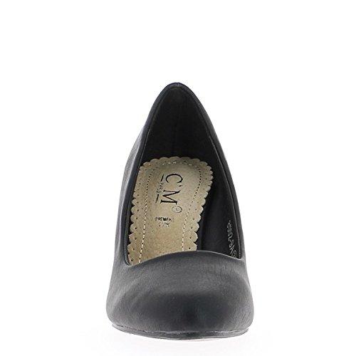 Schuhe Damen schwarz 8 cm Absatz