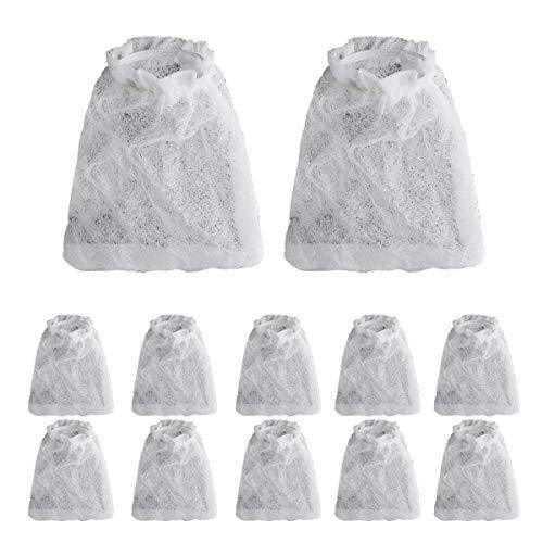 Saim Aquarium Cleaner Filter Bag Replacement Filter Bags Battery-Powered Gravel Cleaner Fitting Bags 12Pcs