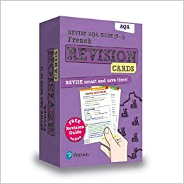 Revise AQA GCSE 9-1 French Revision Cards: with free online