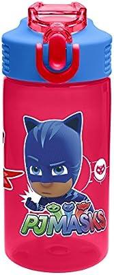 b142e1351b Zak Designs PJMD-T120 PJ Masks Water Bottles, 16 oz, Gekko, Owlette And  Catboy