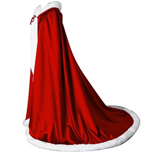 Boda Larga Las Bodas Capa Mujeres Mujer De Rojo Novia Para Fnkscraft® wIqPYY