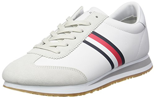 Tommy Hilfiger Herren Core Corporate Sneaker Weiß (White 100)