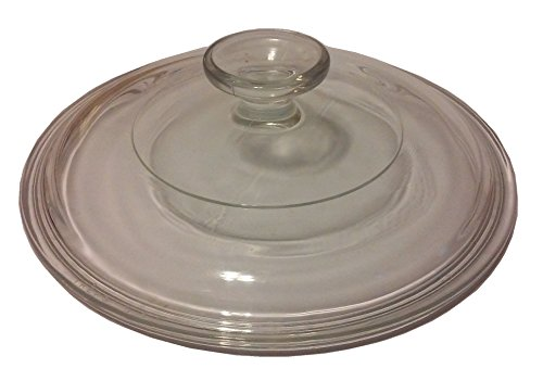 Corning Ware / Pyrex Clear Round Glass Lid ( Clear ) ( 7 1/4