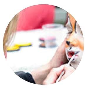 alfombrilla de ratón pintura de la cara - ronda - 20cm