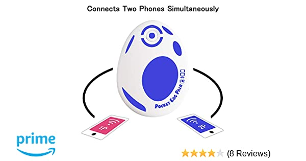 JZW-Shop Pocket Egg Pair, New Pocket Egg Auto Catch Pokemon Connects Two  Phones Simultaneously for Pokemon Go Plus Accessory Compatible with iPhone
