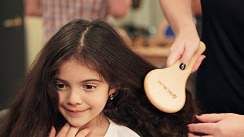 Michel Mercier Detangling Brush Wood Crafted Normal Hair (Fine Hair) by Michel Mercier (Image #1)