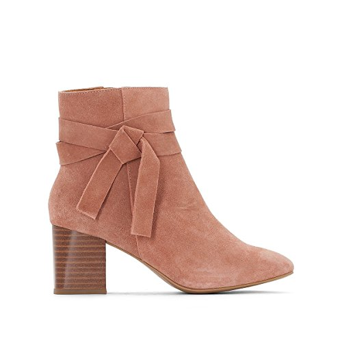 La Redoute Collections Frau Boots mit Schleife Nude