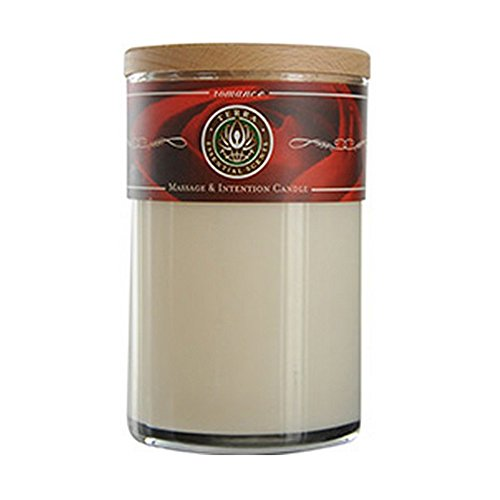 Romance Massage and Intention Scented Soy Candle 12 Oz Tumbler (Lauren Tumbler Ralph)