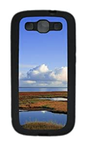 Clouds landscapes TPU Case Cover for Samsung Galaxy S3 Case and Cover - Black