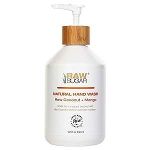 Raw Sugar Natural Hand Wash Raw Coconut Mango 16.9 FL. oz