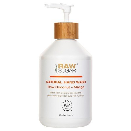 Raw Sugar Natural Hand Wash Raw Coconut Mango 16.9 FL. (Hand Wash Coconut)