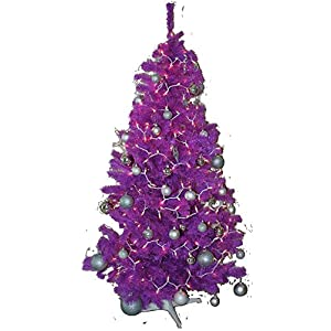 Homegear 6FT Artificial Purple Xmas/Christmas Tree 44