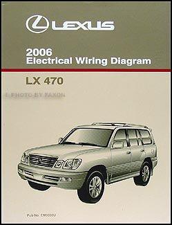 2006 Lexus LX 470 Wiring Diagram Manual Original ()